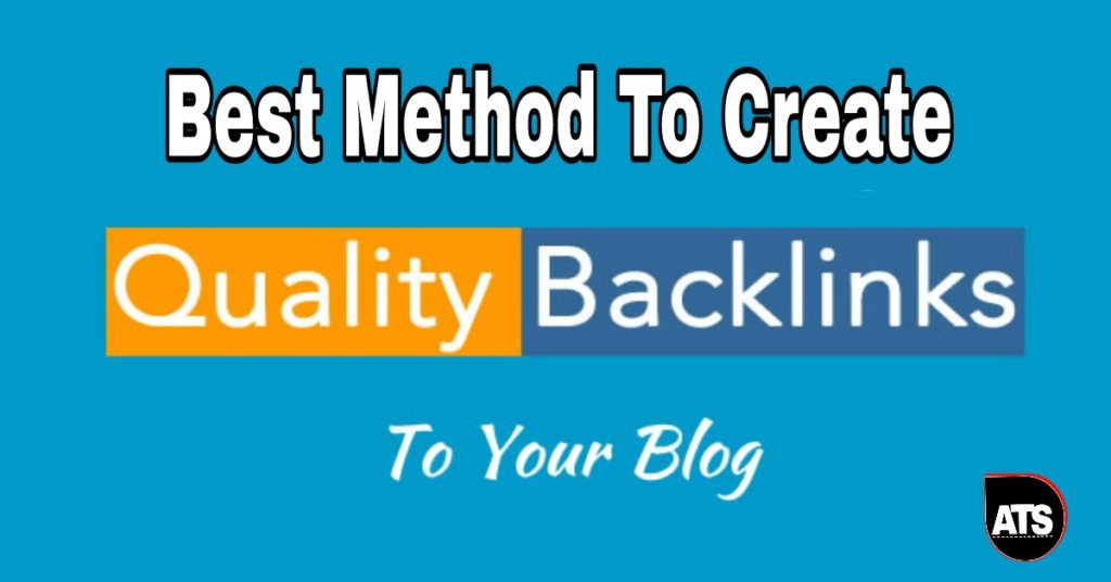 Best method to Create high Quality Backlinks for a Brand New Site