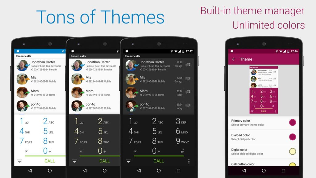 Free Contacts and Best Dialer app for Android