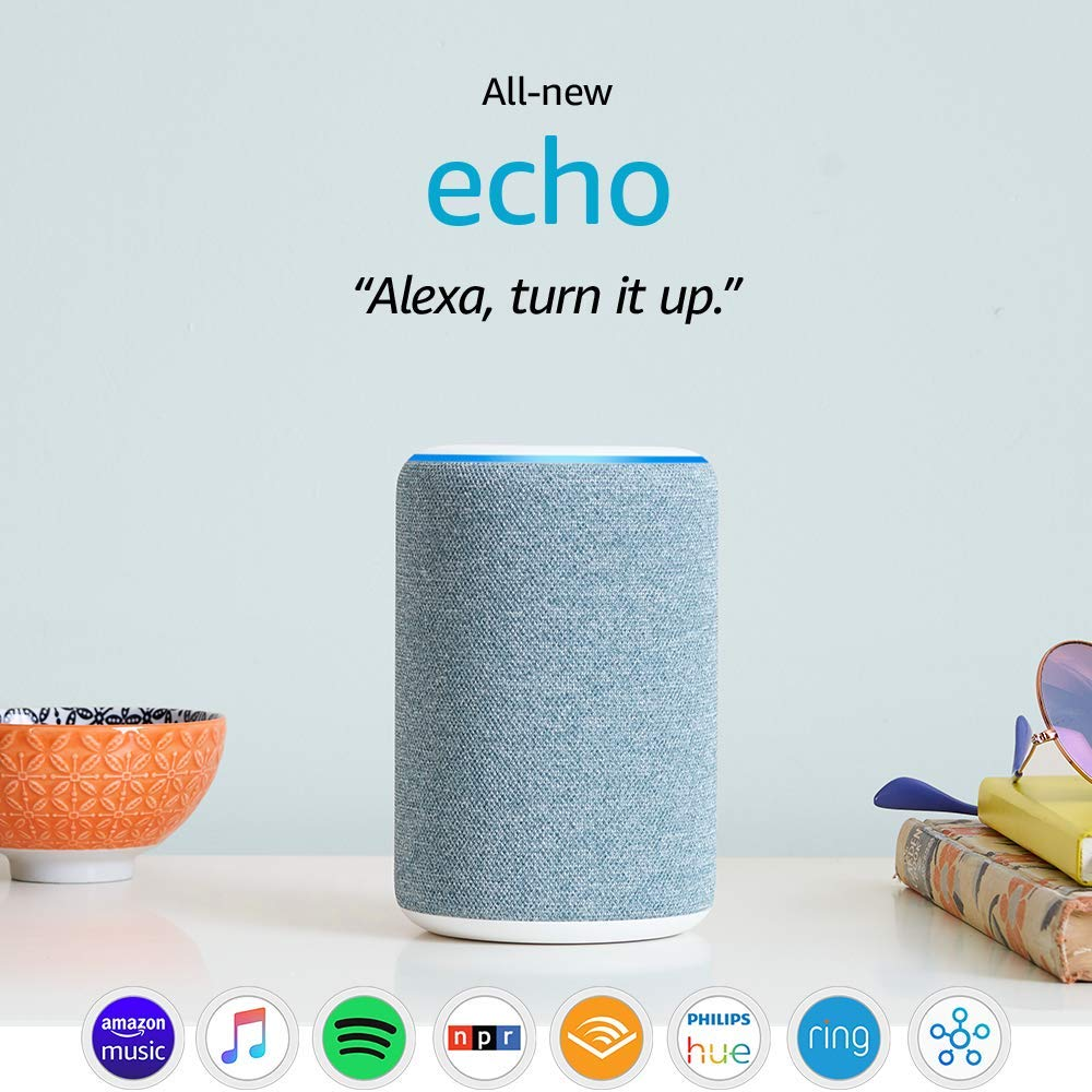 All-new Echo (3rd Gen) - Smart speaker