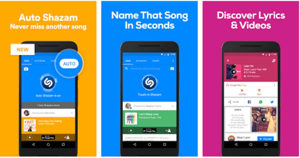 Song identifier apps