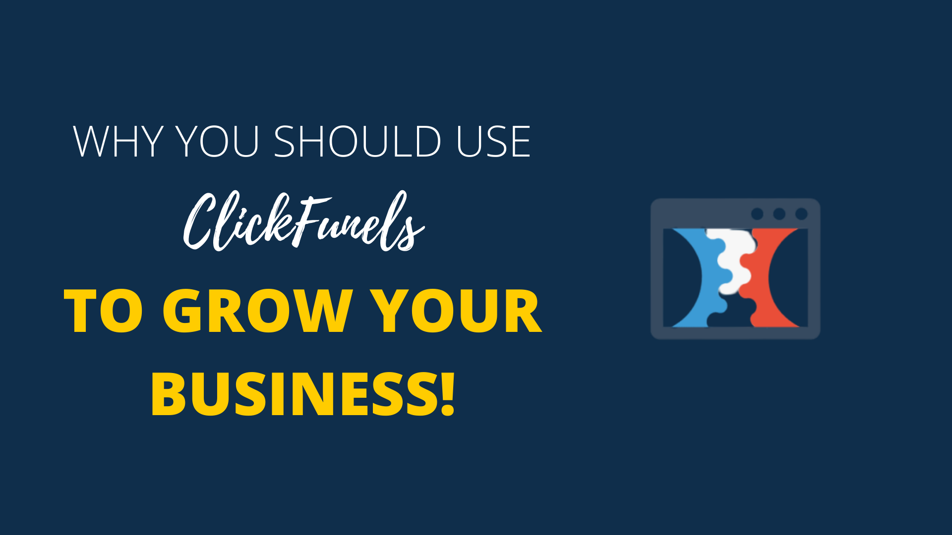Use ClickFunnels